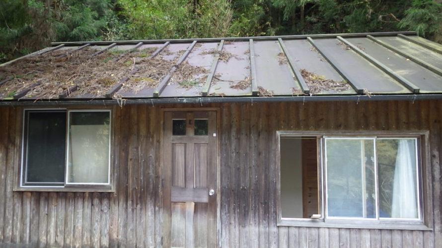 30万円の山小屋、あちこち『ボロボロ』です!